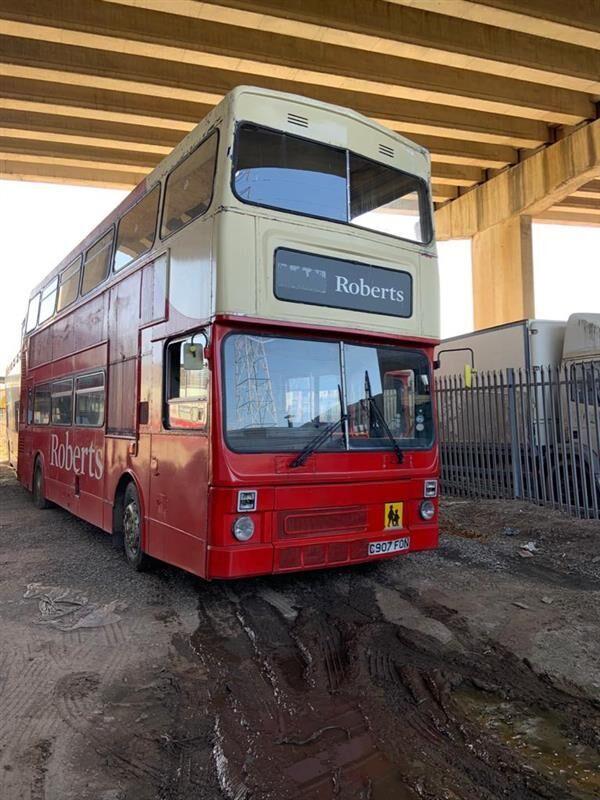 экскурсионный автобус MCW METROBUS EX WMPTE