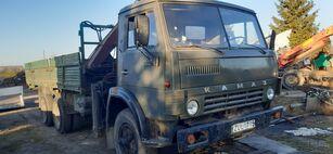 бортовой грузовик КАМАЗ 5320+KRANAS