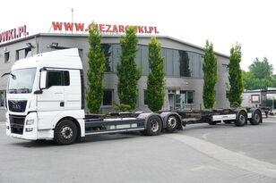 грузовик шасси MAN TGX 26.480 XLX , E6 , BDF SET + Krone Trailer BDF + прицеп шасси