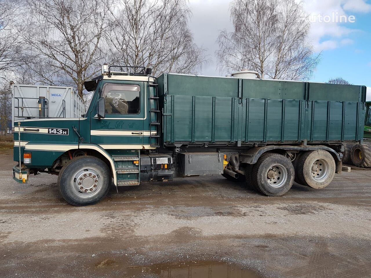 зерновоз SCANIA 143 6x2 tipper