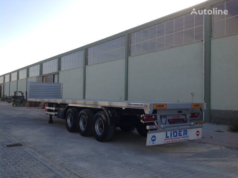 новый полуприцеп платформа LIDER 2019 YEAR NEW MODELS containeer flatbes semi TRAILER FOR SALE (M