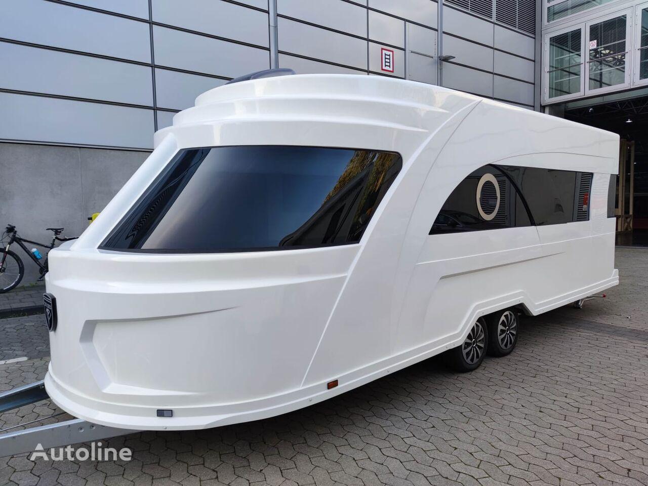 новый прицеп дача  Derubis DERUBIS Series 7 / Monocoque / Wohnwagen wie eine Yacht