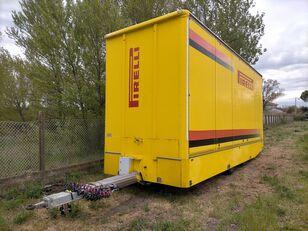 прицеп фургон OMAR Biga furgonata con porte+sponda idraulica Anteo