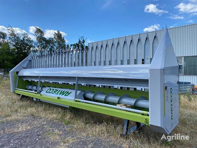 новая жатка для уборки подсолнечника AMTECO S750